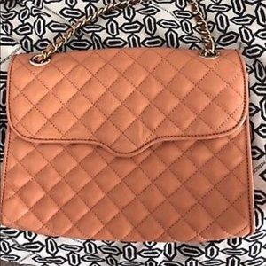 Rebecca Minkoff Quilted Affair Coral/Peach Bag